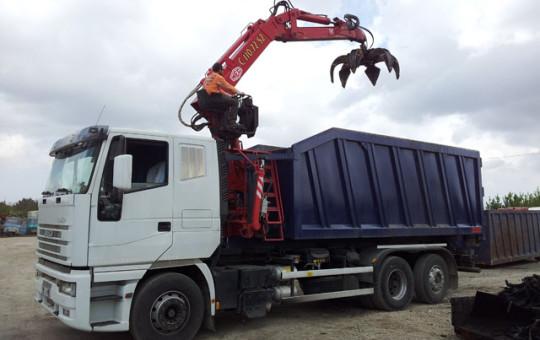 Trasporto rifiuti e macerie